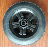 rotella libera piana del pneumatico delle gomme della gomma di 8X2 200X50 200X80 8X2.50-4 della gomma piuma solida dell'unità di elaborazione