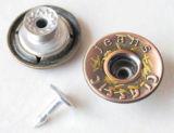 Серебряные Moving кнопки B298 джинсыов