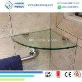 vidrio Tempered claro de 10m m para el estante de la ducha