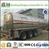 De Semi Aanhangwagen van de Tank van de Ruwe olie van de Olietanker