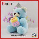 De Blauwe Gevulde Pluche ABC draagt het Stuk speelgoed van de Teddybeer van het Stuk speelgoed