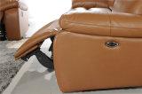 Mobília de couro de Italy com função do Recliner
