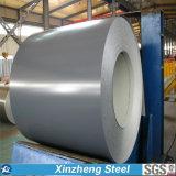 La tôle d'acier galvanisée enduite d'une première couche de peinture/couleur a galvanisé l'acier/la bobine en acier enduite par couleur