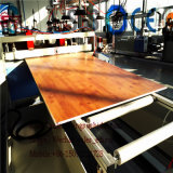 Máquina compuesta plástica de madera del plástico de la máquina de la máquina de la tarjeta de la madera contrachapada de /Wood de la máquina del encofrado de WPC
