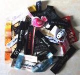 Etiqueta engomada de la impresión, etiqueta perforada, etiqueta tejida, sello de la seguridad, remiendo del bordado, cinta adhesiva (003)