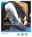Protezioni cape ellissoidali Polished dell'acciaio inossidabile 300#