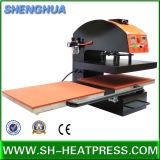 Double machine d'impression pneumatique de transfert de presse de la chaleur à vendre