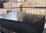 Contre-plaqué Shuttering fait face par film noir de matériau de construction de peuplier (12X1250X2500mm)