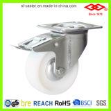 Промышленное белое Nylon колесо рицинуса (P102-20D080X35)