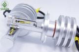 2016販売のFanless熱い25W 4500lm LEDのヘッドライト