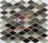Мозаика керамического смешивания шестиугольника самомоднейшей конструкции стеклянная (CST210)