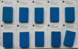 セルシリコーンのスポンジシート、シリコーンの泡シートを大きさで分類した6つ、8、10、15mm x 1.0m X 10mを開きなさい