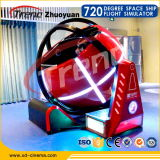 Simulador de Vr de la lanzadera del espacio-tiempo de la realidad virtual de Zhuoyuan