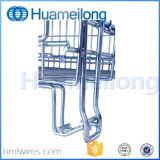 Conteneur galvanisé par mémoire compressible de treillis métallique pour l'entrepôt