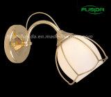 Dell'interno di vetro di stile europeo per la lampada da parete della lettura (8122/1 di W)