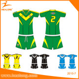 Chemises réglées du Jersey de rugby sublimées par Customate du football de contact de la jeunesse d'équipe