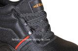 Кожаный ботинки безопасности