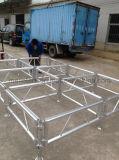 stadium van het Aluminium van 1.22X1.22m (4ftx4FT) het gemakkelijk-Geassembleerde Dansende Frame