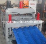 Le Double couche en acier galvanisé a glacé le roulis de tuile formant la machine