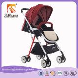 Vier Farben-Aluminiumlegierung-Rahmen-Baby-Träger-Regenschirm-SpaziergängerPram
