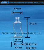 Kreative Wellen-Form-Glasflasche für Wein