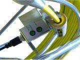 Камера осмотра трубы с '' монитор цвета 15, объектив фотоаппарата 50mm
