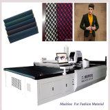 Máquina del CNC de la tela del cuero de la ropa de la exportación de China de la materia textil del corte del cuchillo