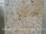 L727 Classic Beige Limestone Polished/Acid/Polished Finish Flooring и Wall Cladding Tile