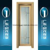 Portello di alluminio della stanza da bagno del portello della cerniera della porta a battenti del portello interno