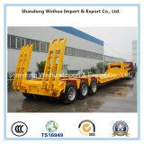 De Op zwaar werk berekende Semi Aanhangwagen van uitstekende kwaliteit van de Vrachtwagen Lowbed