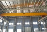 Único guindaste de viagem aérea da viga com maquinaria de levantamento da grua elétrica para a tonelada 10ton 15ton 20ton da oficina 5