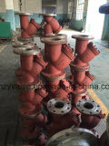 """API/DIN/JIS A216 Wcb uit gegoten staal 2 """" Dn50 de Zeef van Y"""