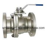 Bâti d'acier inoxydable pour la pompe de robinet à tournant sphérique (bâti perdu de cire)