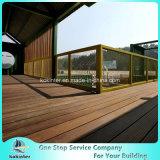 대나무 Decking 옥외 물가에 의하여 길쌈되는 무거운 대나무 마루 별장 룸 34