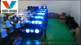8 parties de 10W DEL d'effet d'araignée d'éclairage principal mobile de faisceau