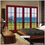 Porte en verre de glissement, glissant la porte en bois, porte coulissante
