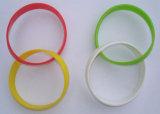 Doppio Wristband del braccialetto del silicone degli innamorati di modo di alta qualità,