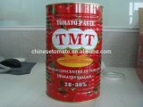 OEM Marca conservada del tomate Pasta de todos los tamaños 70 G a 4,5 kg