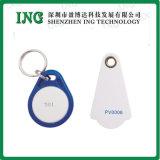 Cartão em branco de 125kHz, smart card do PVC do plástico RFID