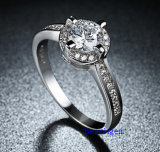 Heet verkoop de Ringen van het Messing van het Zirkoon van Juwelen (R0818)