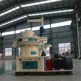 Деревянная лепешка тепловозного мотора шелухи риса биомассы делая машину
