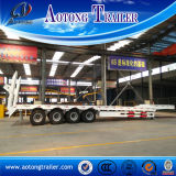 80tons idraulico Lowbed Truck Semi Trailers da vendere