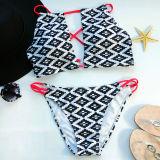 Neue Ankunfts-reizvolle Bikini-Badebekleidung zwei Stücke, die Klage-Badebekleidung auf den Strand setzen