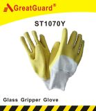 Glass Gripper Latex Dipped Glove (ST1070Y)