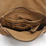 Cartella unisex all'ingrosso del sacchetto di spalla della tela di canapa del progettista (RS- 6003)