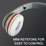 Продавать беспроволочного шлемофона Bluetooth портативного передвижного миниого белого холодного хороший