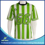Camisola Sublimated feito-à-medida do futebol para equipes do jogo de futebol