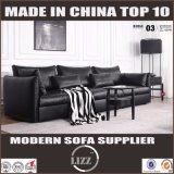 Ultimo sofà moderno europeo del cuoio della mobilia di stile