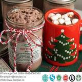 I beni di consumo vendono al dettaglio il preparato caldo istante del cacao del pacchetto