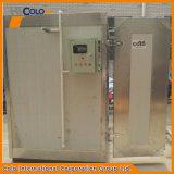 Polvo manual que cura el sistema del horno por los elementos de calefacción eléctricos
